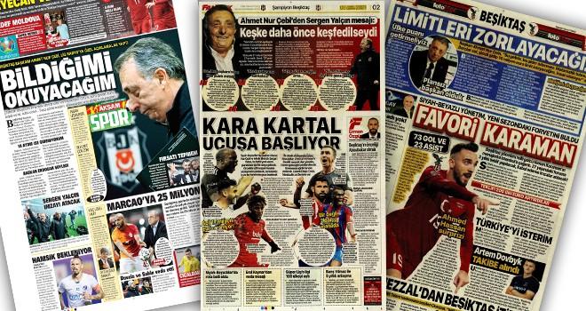 Başkan Çebi'nin açıklamaları manşetlerde!