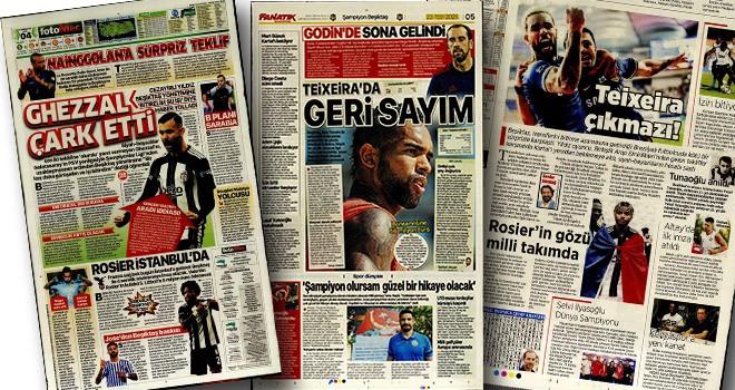 Günün Beşiktaş manşetleri (23 Temmuz)