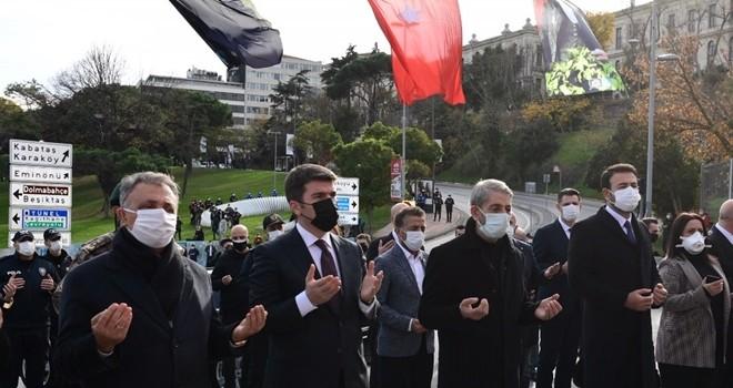 Beşiktaş terör saldırısı şehitlerimizi saygı ve rahmetle andık