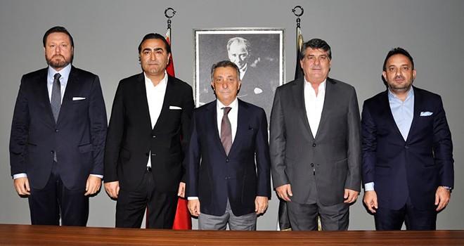 BJK Yönetim Kurulu eski üyelerinden Başkan Çebi'ye ziyaret