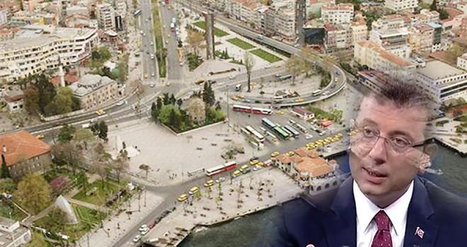 Ekrem İmamoğlu, Beşiktaş meydanına da dokunacağız