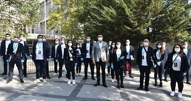 Beşiktaş'ta 2 ayda 51 bin 576 hane ve 530 iş yeri ziyaret edildi