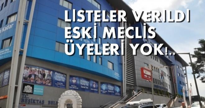 İşte CHP Beşiktaş Belediyesi Meclis listesi