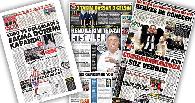 Günün Beşiktaş manşetleri! Başkan Çebi'den flaş açıklamalar