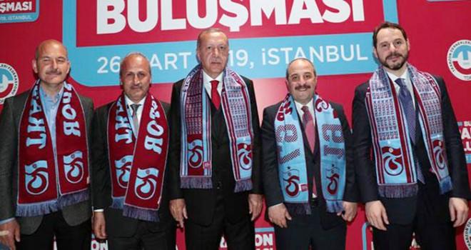 Cumhurbaşkanı Erdoğan Trabzonlularla buluştu
