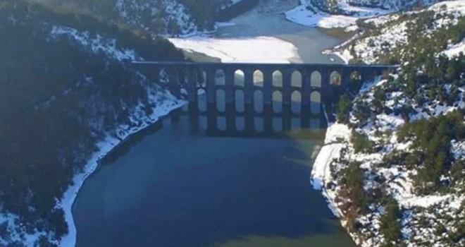 Kar yağışı İstanbul'da barajları doldurdu