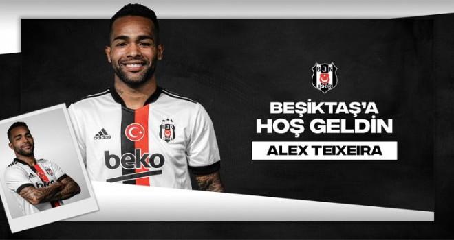 Alex Teixeria'nın artık Beşiktaş'ta yıldızı parlayacak