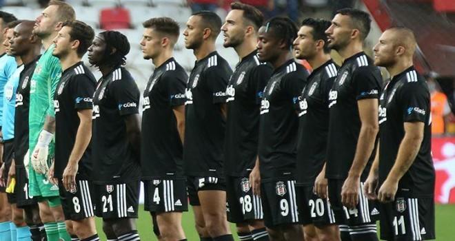 Beşiktaş'ın maç kadrosu