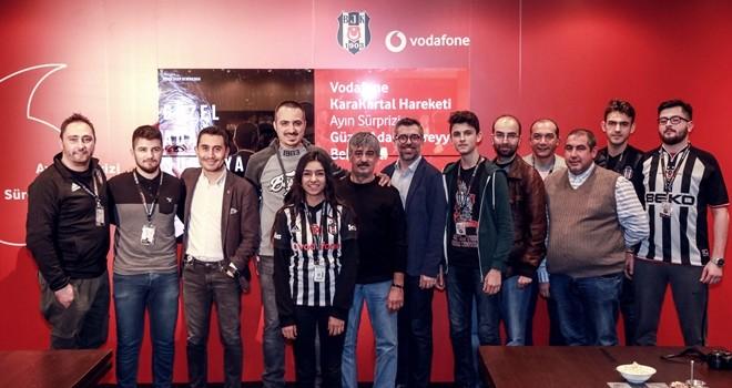 Vodafone KaraKartalları Süreyya Soner ile buluştu