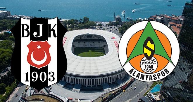 Beşiktaş – Alanyaspor karşı karşıya