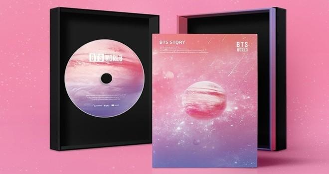 BTS WORLD müzik albümü yayınlandı