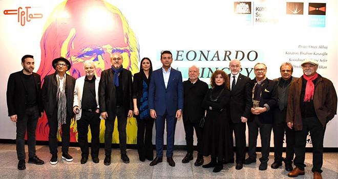Beşiktaş'ta Leonardo Da Vinci'ye Saygı Sergisi açıldı