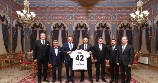 Fikret Orman'dan İstanbul Valisi Ali Yerlikaya'ya ziyaret