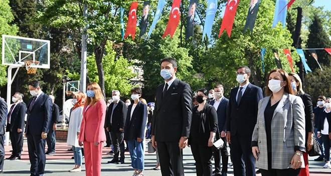 Beşiktaş'ta 19 Mayıs coşkusu