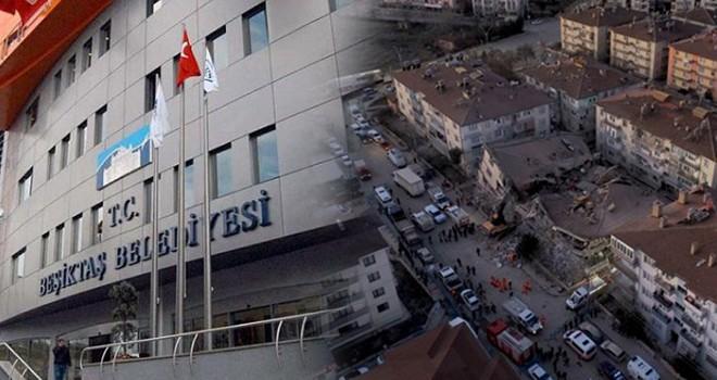 Beşiktaş deprem bölgesi için tek yürek