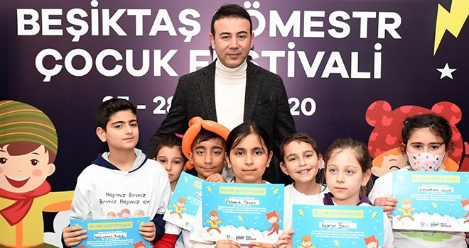 Beşiktaş'ta Sömestr Çocuk Festivali düzenlendi