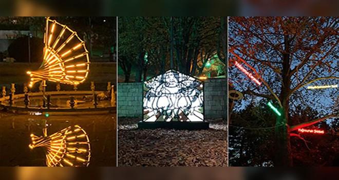 İstanbul the Lights projesi ile sanatçıların eserleri kent meydanlarında