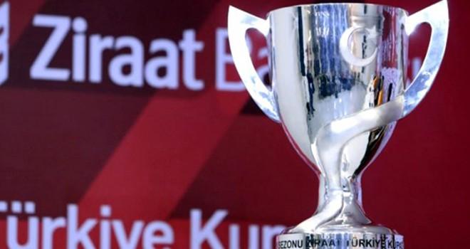 Ziraat Türkiye Kupası'nda son 16 takım