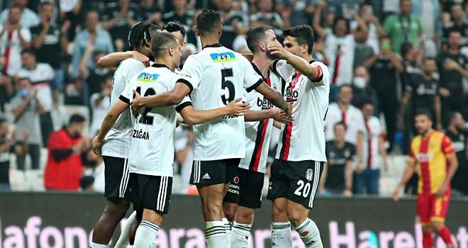 Beşiktaş 3 golle 3 puanı aldı!
