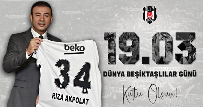 Beşiktaşlı Başkandan camiaya mesaj