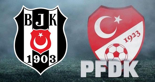 TFF açıkladı! Beşiktaş PFDK'ya sevk edildi
