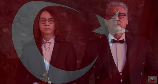 Eren Joseph ve Paul Dwyer'den Çanakkale Zaferi'ne özel şarkı