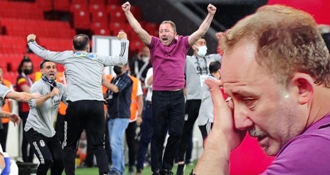 Sergen Yalçın Beşiktaş'ta tarih yazdı