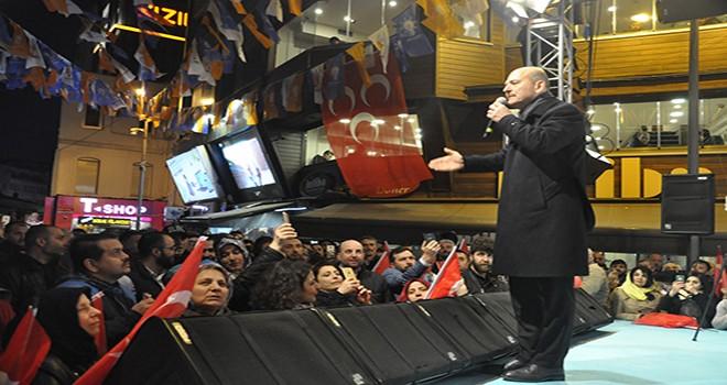 Süleyman Soylu, Beşiktaşlılara seslendi bu coğrafya çok sıkıntı çekti