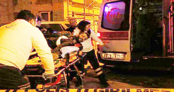 Beşiktaş'ta silahlar konuştu 1 yaralı