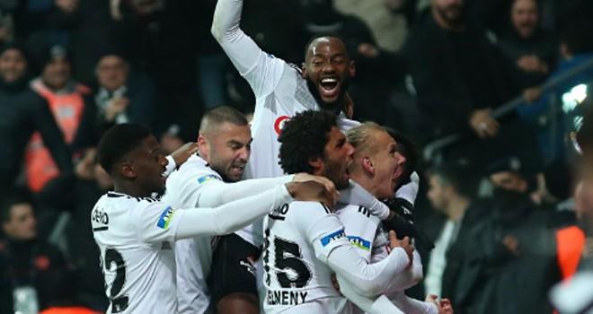 Beşiktaş - Trabzonspor maç sonucu: 2-2