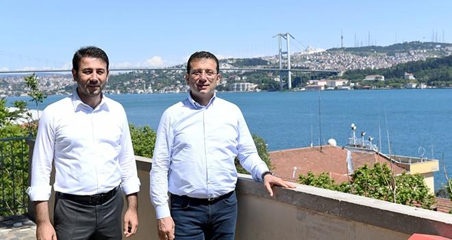 İmamoğlu ve Akpolat Beşiktaş'ın sorunlarını çözüyor