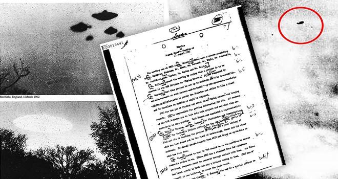 CIA gizli belgeleri yayınladı! UFO kayıtları ve fotoğrafları...