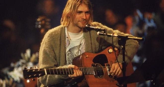 Efsane müzisyen Kurt Cobain anılacak