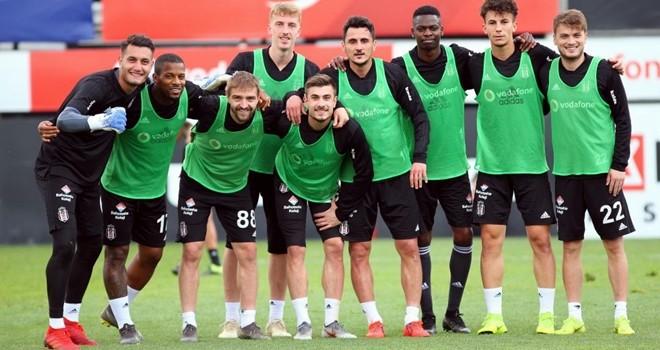 Beşiktaş, Alanyaspor maçına hazırlanıyor