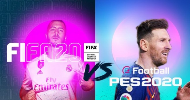 eFootball PES 2020 ve Fifa 2020