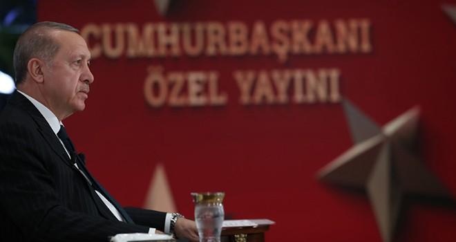 Cumhurbaşkanı Erdoğan'dan maske, mesafe ve temizlik vurgusu