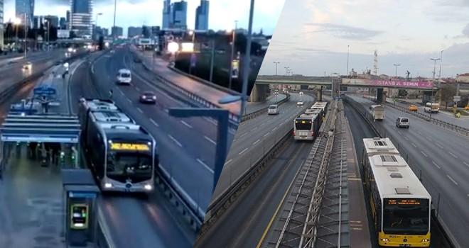 Corona İstanbul trafiğini de etkiledi