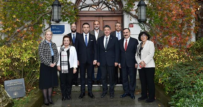 Başkan Akpolat'tan Boğaziçi Üniversitesi'ne tebrik ziyareti