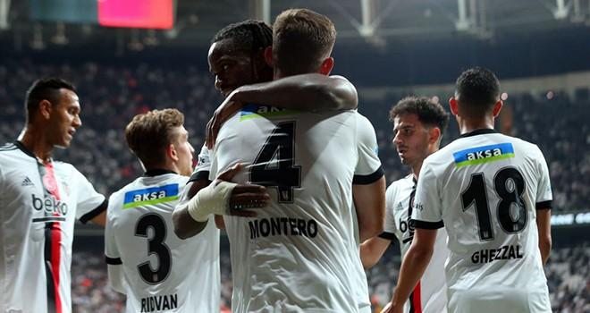 Beşiktaş - Adana Demirspor: 3-3