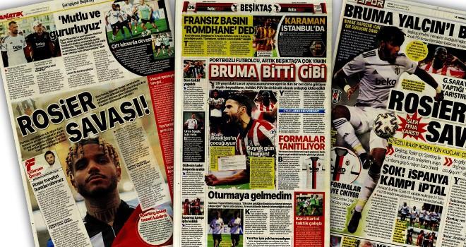 Günün Beşiktaş manşetleri (14 Temmuz)