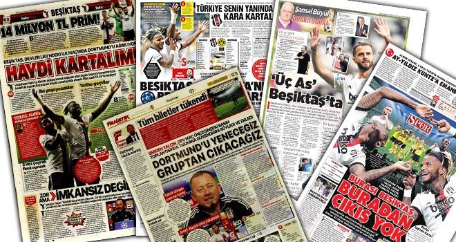 Günün Beşiktaş manşetleri! (15 Eylül)