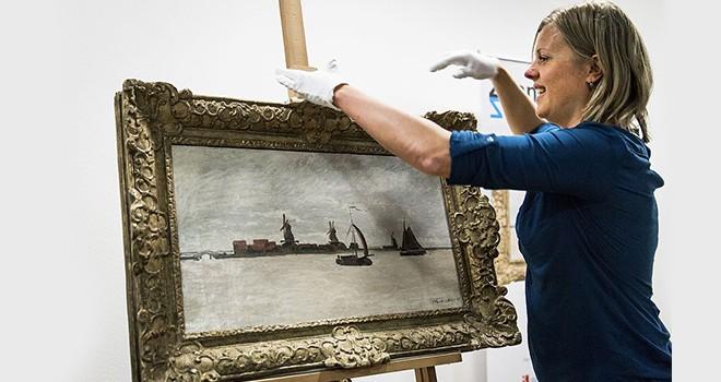Monet'nin tablosu silahlı hırsızların hedefi oldu