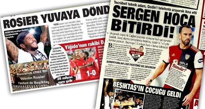 Manşetlerle Beşiktaş (30 Temmuz)