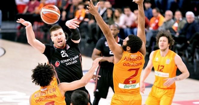 Beşiktaş Sompo Japan: 87 – Galatasaray: 93