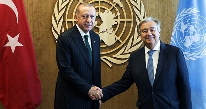 Cumhurbaşkanı Erdoğan, ABD'de ikili temaslarda bulundu