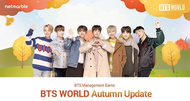 BTS WORLD oyununa sonbahar güncellemesi geldi