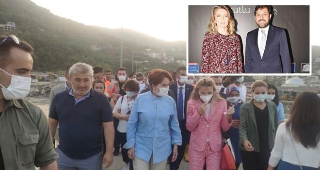 Görevden alınan Beşiktaş eski Belediye başkanı Murat Hazinedar'ın eşi Özlem Hazinedar İYİ Parti'ye katıldı!