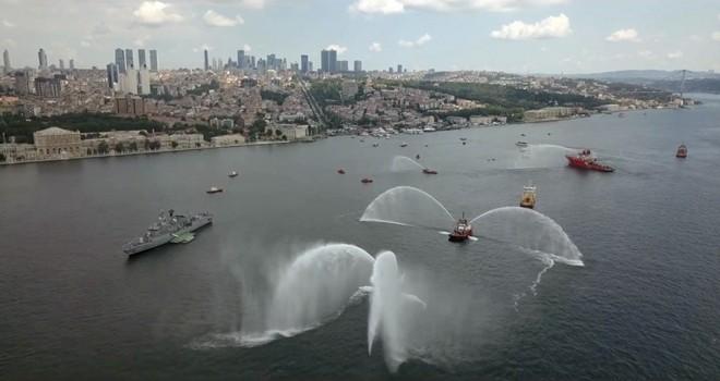 Beşiktaş'ta Denizcilik ve Kabotaj Bayramı coşkusu