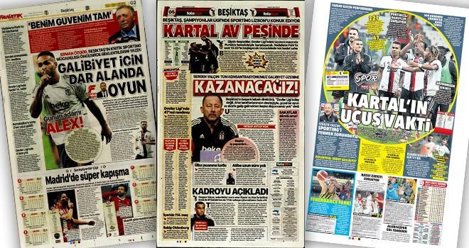 Beşiktaş manşetleri! (19 Ekim)