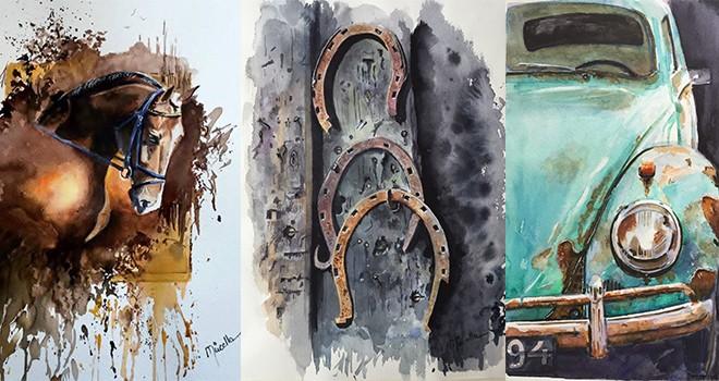 Yolculuk isimli resim sergisi sanatseverlerle buluşuyor